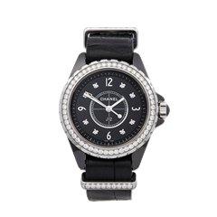 Chanel J12 Diamond Ceramic - H4189