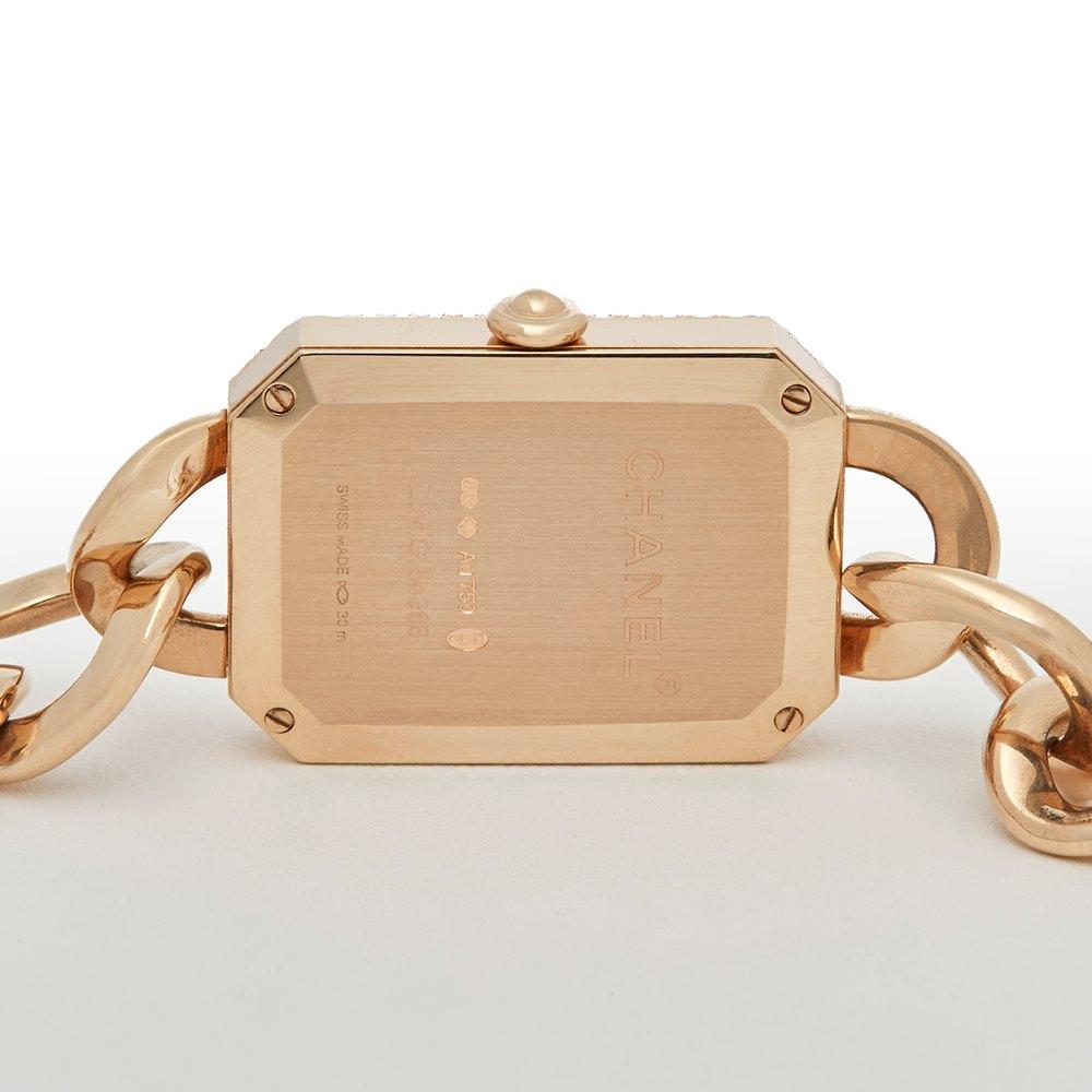 Chanel Montre Premiere 18K Rose Gold H4412
