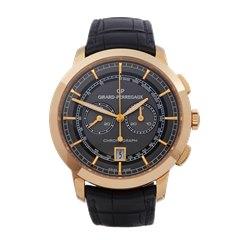 Girard Perregaux 1966 Chronograph 18k Rose Gold - 4952952231BA6A