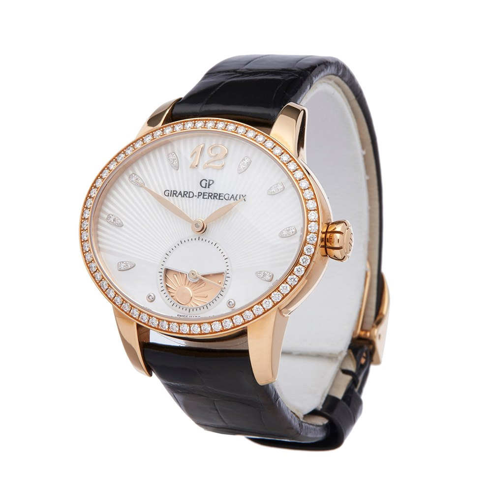 Girard Perregaux Cats Eye Diamond Rose Gold 80488D52A751CK6