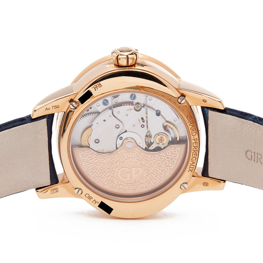 Girard Perregaux Cats Eye Diamond Rose Gold 80488D52A451CK4