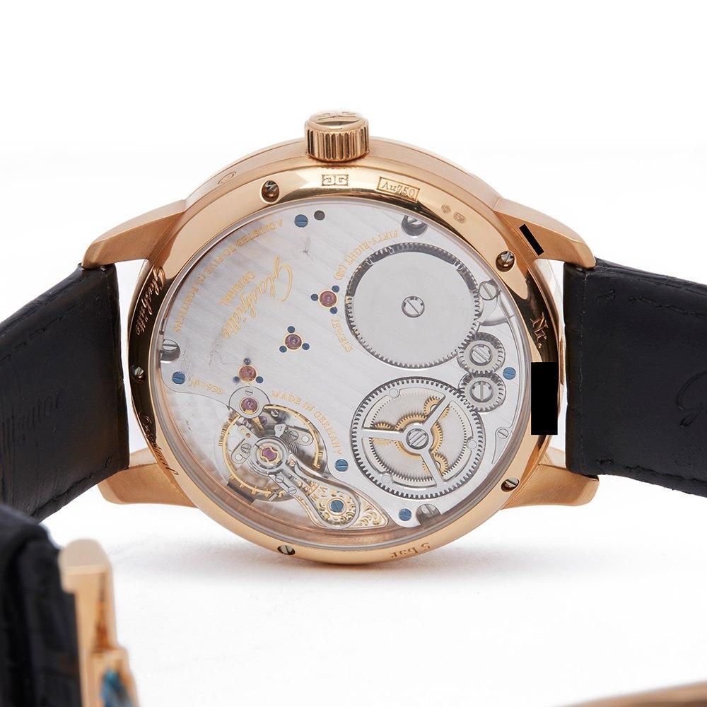 Glashutte Senator Chronometer Regulator 18k Rose Gold 1-58-04-04-05-04