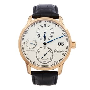 Glashutte Senator Chronometer Regulator 18k Rose Gold - 1-58-04-04-05-04