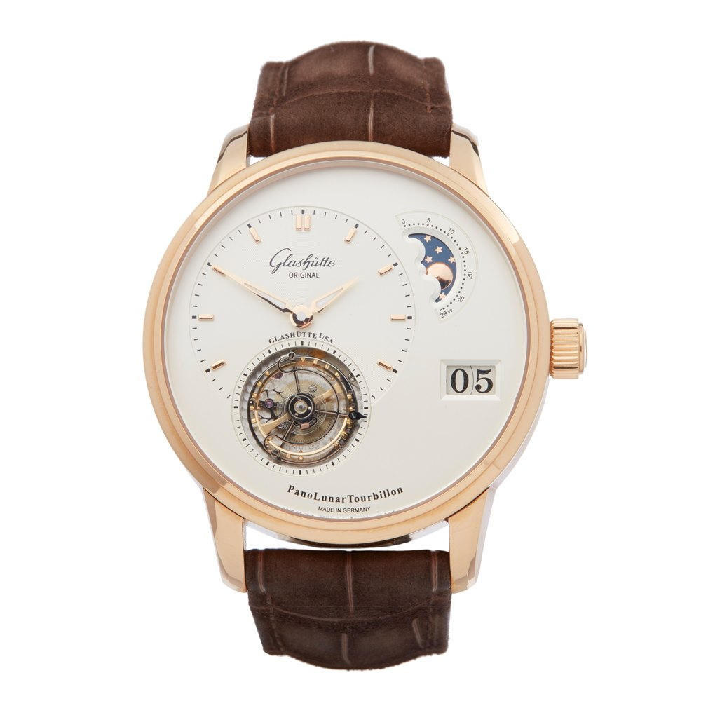 Glashutte Panolunar Panolunar Tourbillon 18k Rose Gold 1-93-02-05-05-05