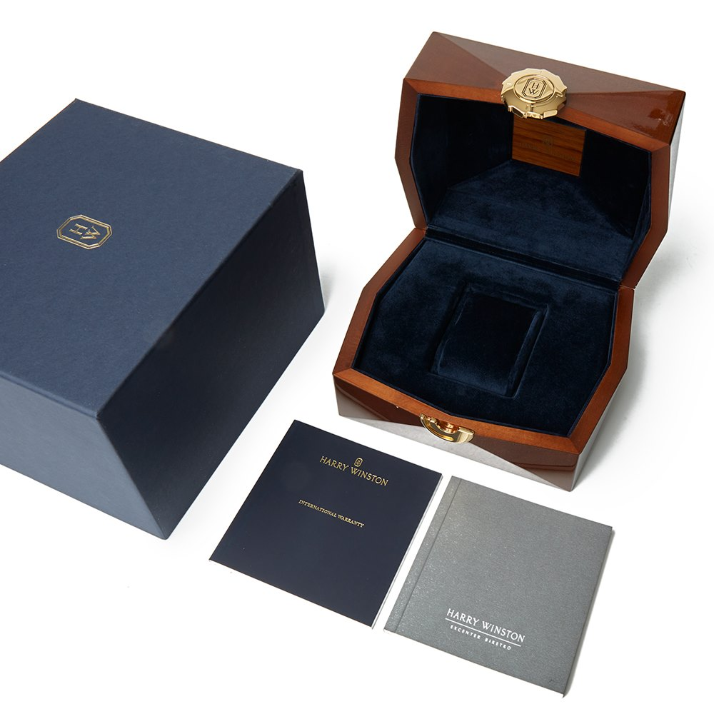 Harry Winston Midnight 18k Rose Gold MIDAHD39RR001