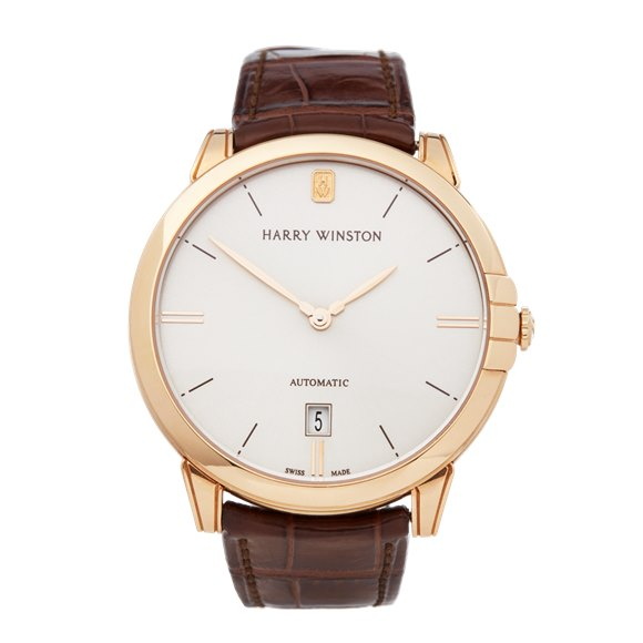 Harry Winston Midnight 18k Rose Gold - MIDAHD39RR001