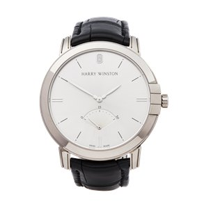 Harry Winston Midnight Retrograde 18K White Gold - MIDARS42WW001