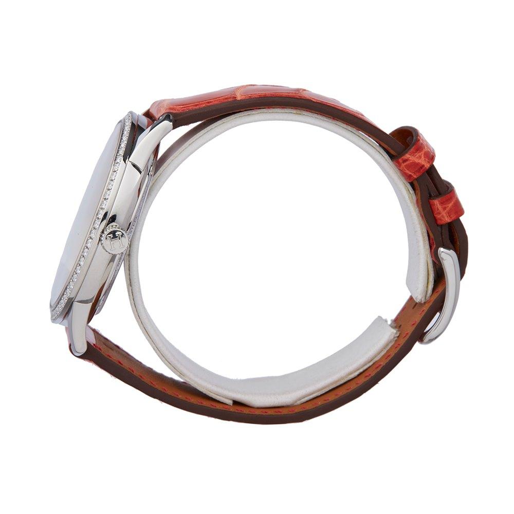 Hermès Slim D'Hermes Diamond Stainless Steel W043201WW00