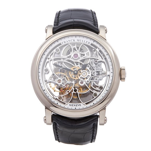 Franck Muller Round 7 Day Skeleton 18k White Gold - 7042 B S6 SQT