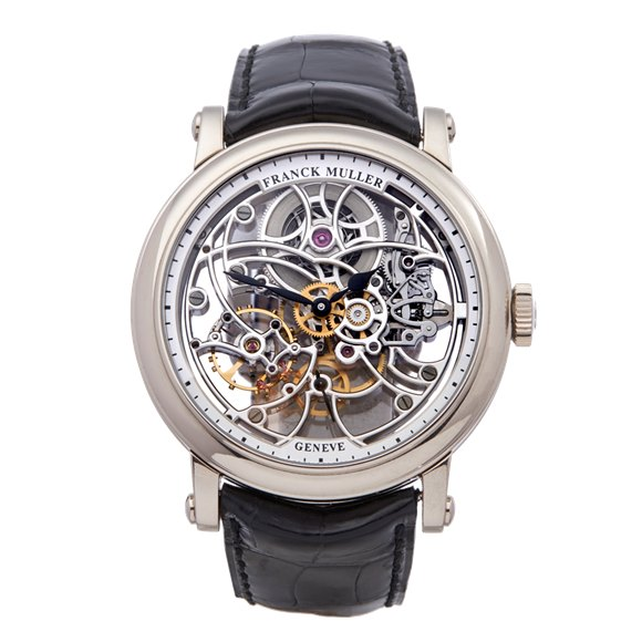 Franck Muller Round 7 Day Skeleton White Gold - 7042 B S6 SQT