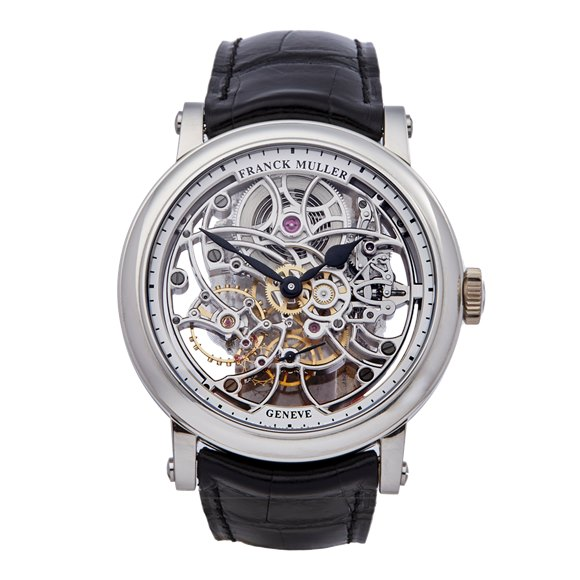 Franck Muller Round 7 Day Skeleton Stainless Steel - 7042 B S65 97AC
