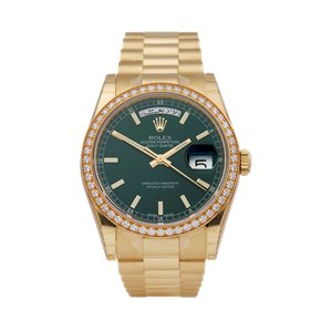 Rolex Day-Date 18K Yellow Gold - 118348