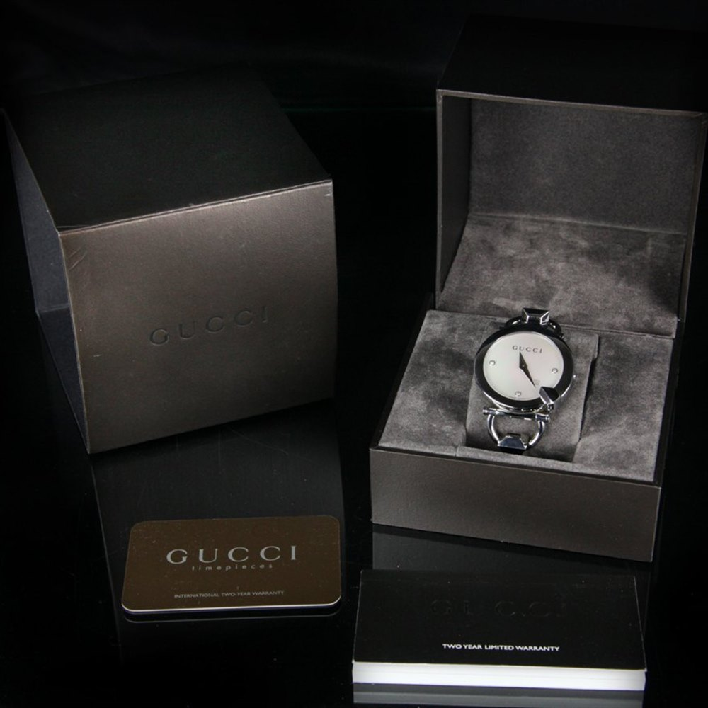 Gucci Chiodo Stainless Steel YA122504