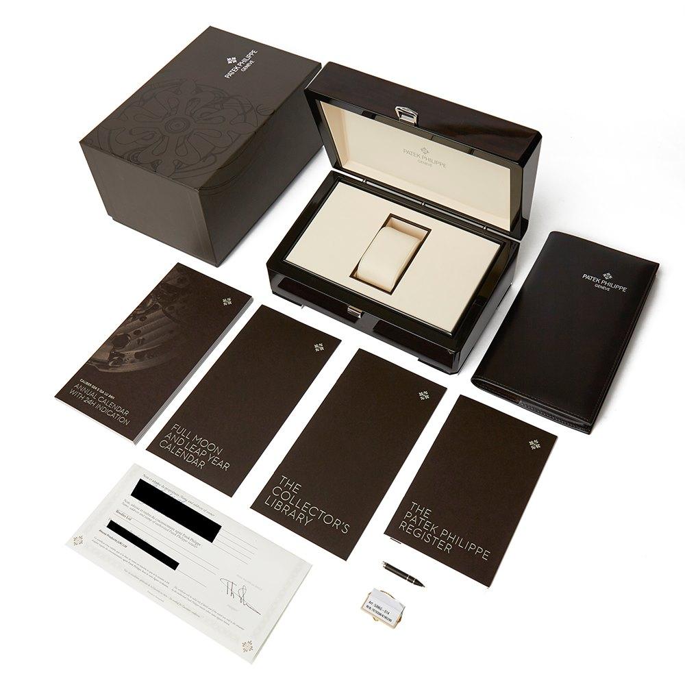 Patek Philippe Classic Annual Calendar 18k White Gold 5396G-014