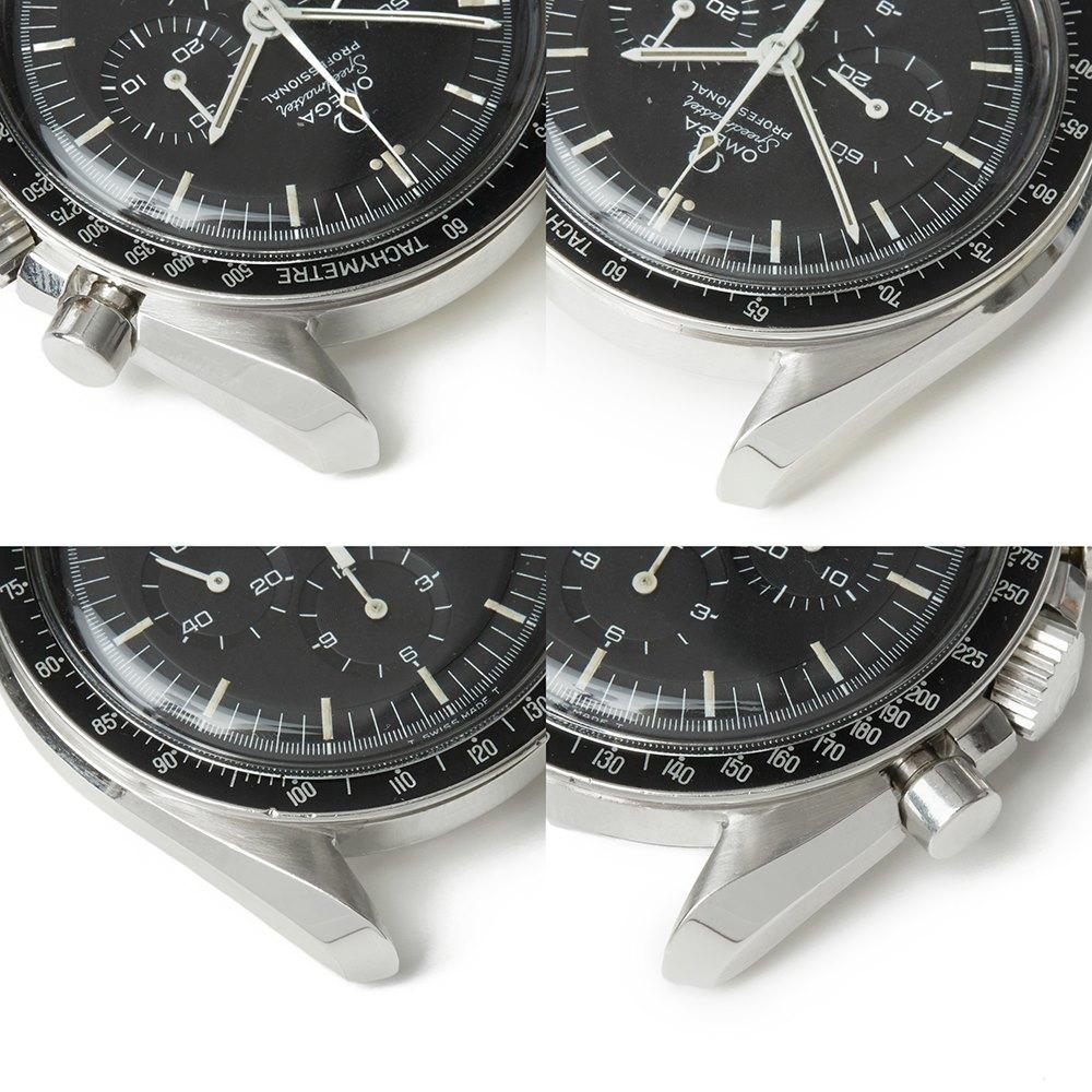 Omega Speedmaster Straight Writing Chronograph Stainless Steel 145.022