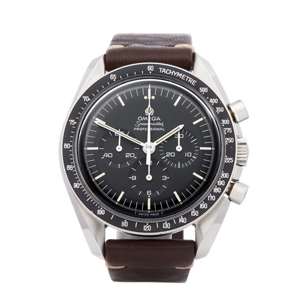 Omega Speedmaster Straight Writing Chronograph Stainless Steel - 145.022