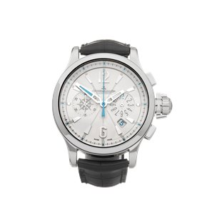 Jaeger-LeCoultre Master Compressor Chronograph GMT Stainless Steel - 148.8.31