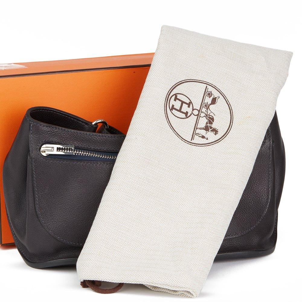 Hermès Raisin Evercalf Leather Chiquita Belt Bag