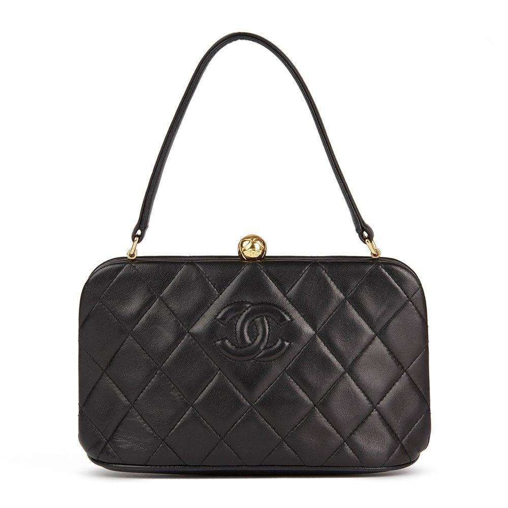 6a1d6ba1d9a4 Chanel Timeless Frame Bag 1994 HB2395   Second Hand Handbags   Xupes