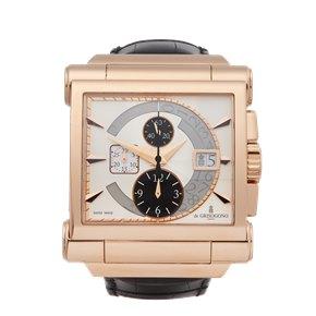 De Grisogono Grande Chrono Chronograph 18k Rose Gold - N02