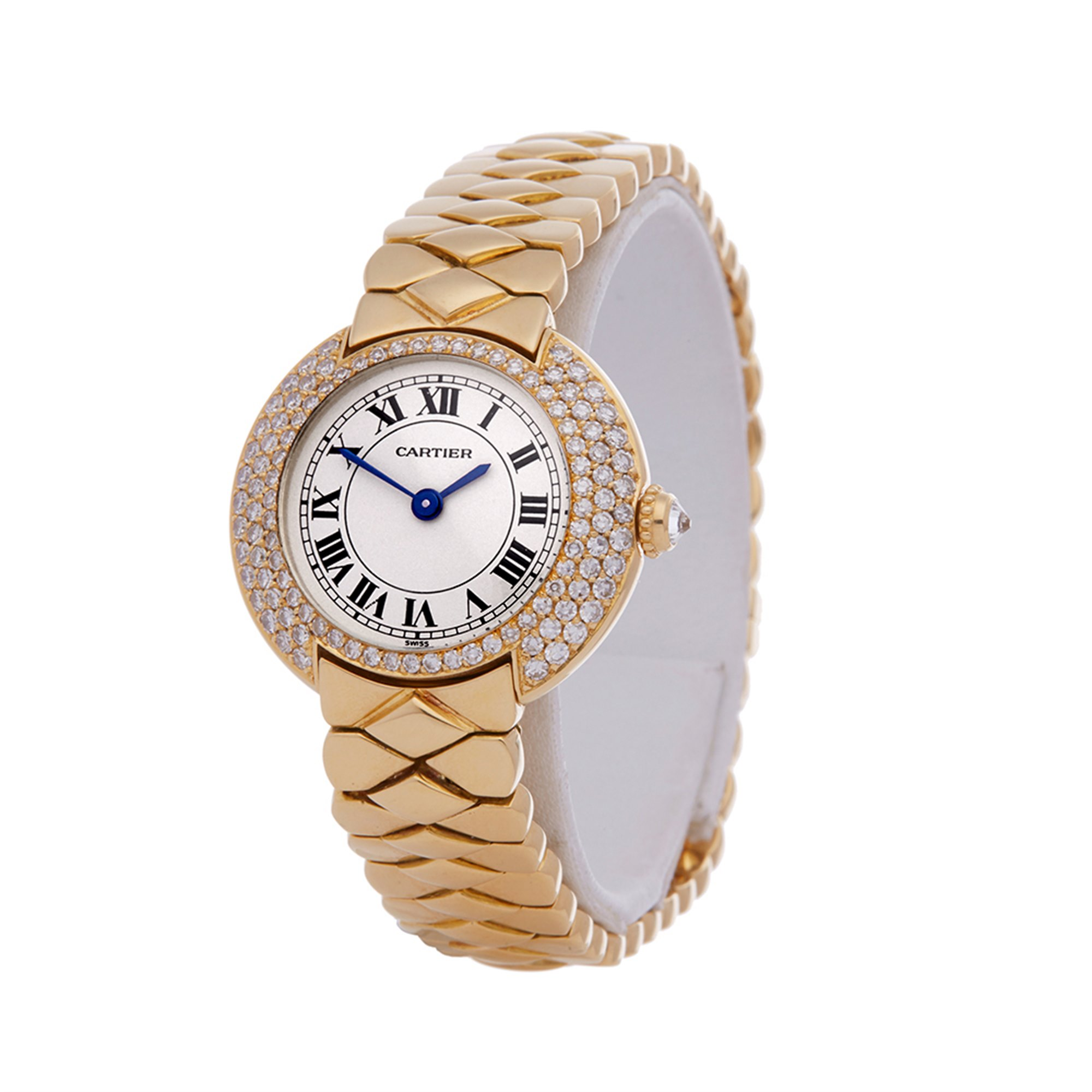 Cartier Vendome Diamond 18k Yellow Gold 1292