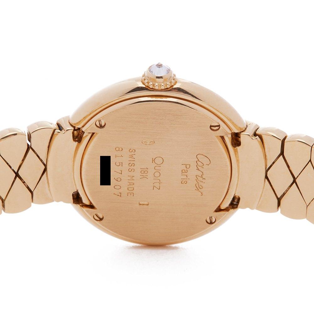 Cartier Vendome 18K Yellow Gold 1292
