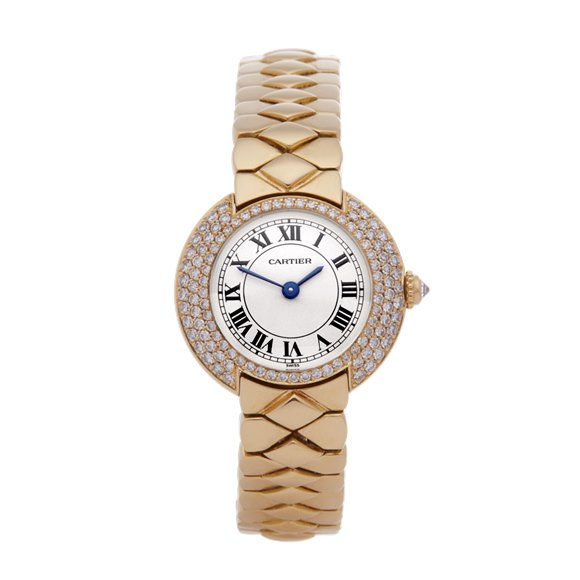 Cartier Vendome Diamond Yellow Gold - W15071G8 or 1292