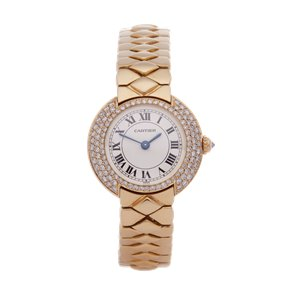 Cartier Vendome Diamond 18k Yellow Gold - 1292