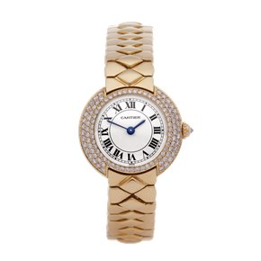 Cartier Vendome Diamond 18K Yellow Gold - W15071G8 or 1292