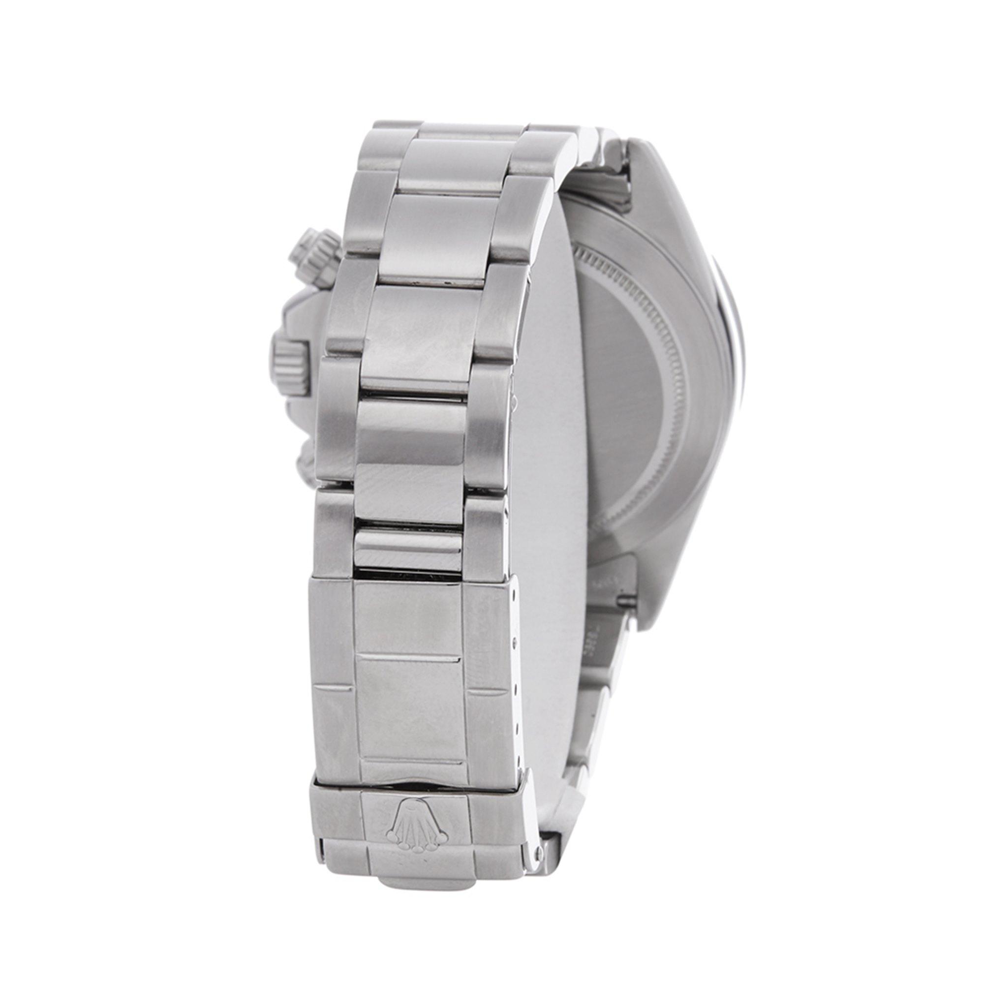 Rolex Daytona Patrizzi Zenith Chronograph Stainless Steel 16520