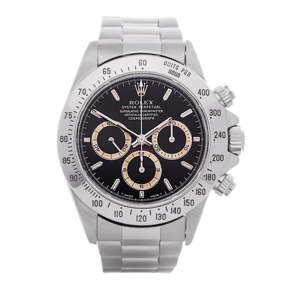 Rolex Daytona Patrizzi Zenith Chronograph Stainless Steel - 16520