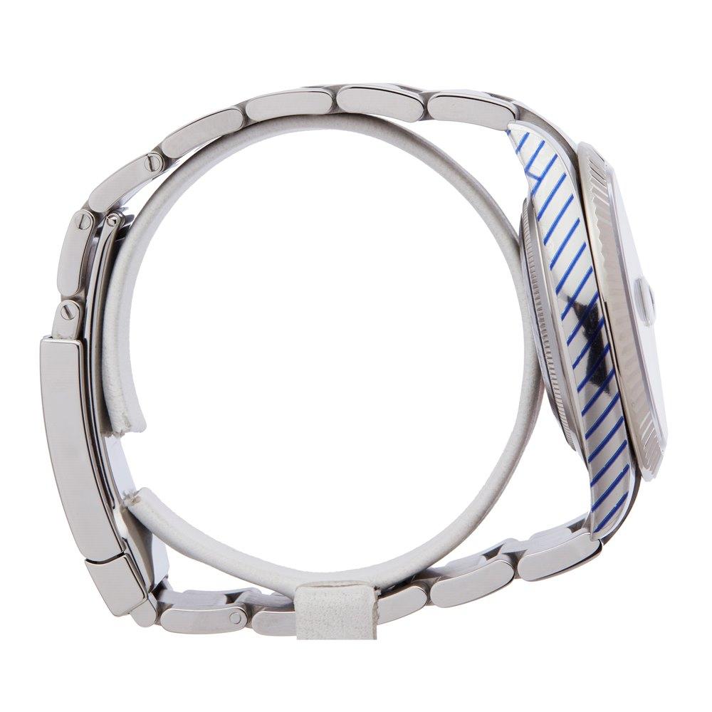 Rolex DateJust 41 Diamond Stainless Steel & White Gold 126334