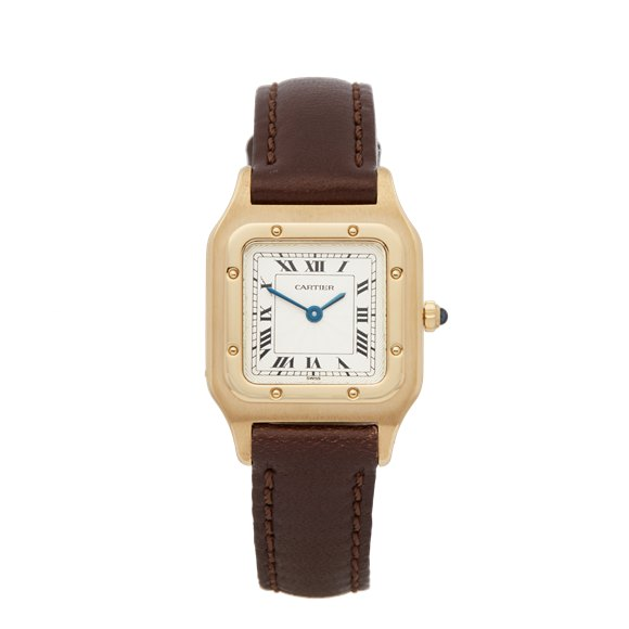 Cartier Santos Dumont 18K Yellow Gold - 1576