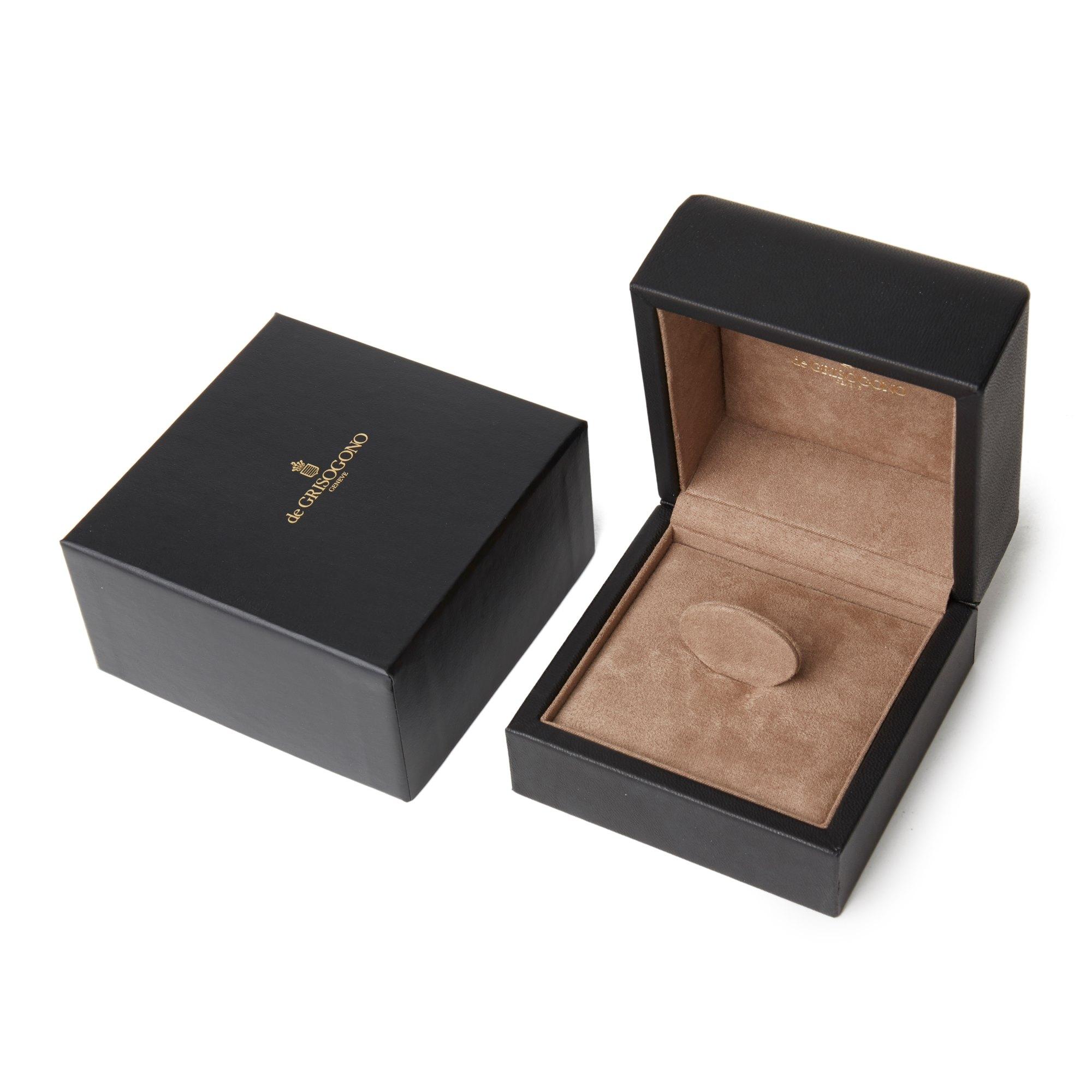 De Grisogono 18k Rose Gold Cabochon Cut Citrine Sensualona Ring