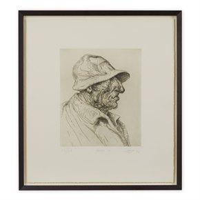 PETER HOWSON UNDERGROUND SERIES FRAMED BAKER ST PRINT 1998