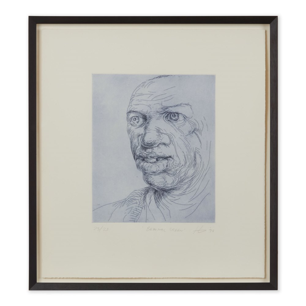 PETER HOWSON UNDERGROUND SERIES BETHNAL GREEN PRINT 1998 Dated 1998