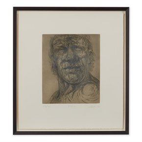 PETER HOWSON UNDERGROUND SERIES FRAMED EPPING PRINT 1998