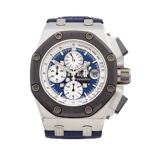 Audemars Piguet Royal Oak Offshore Rubens Barrichello Ii Chronograph Platinum - 26078PO.OO.D018CR.01