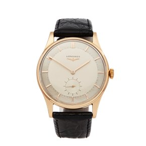Longines  18K Rose Goud
