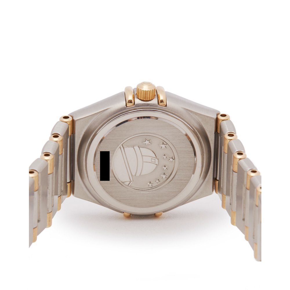 Omega Constellation Stainless Steel & 18K Yellow Gold 1277.3