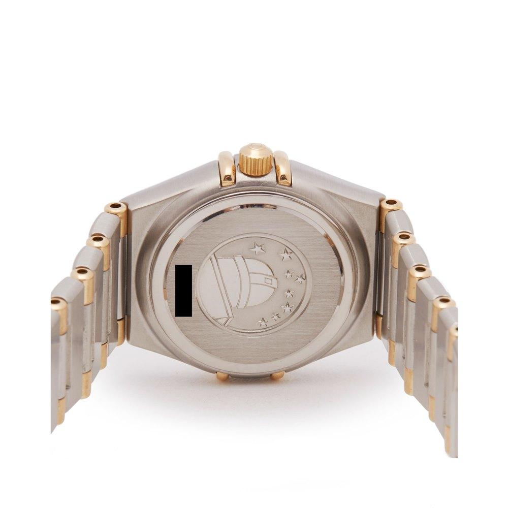 Omega Constellation Diamond Stainless Steel & Yellow Gold 1277.3