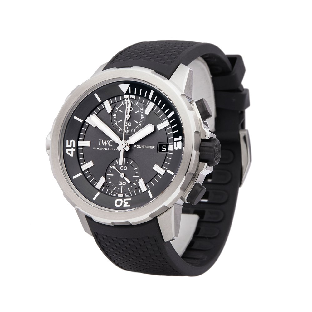IWC Aquatimer Shark Edition Chronograph Stainless Steel IW379506