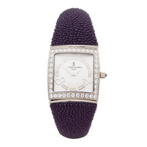 De Grisogono Piccolina Diamond 18k White Gold - S05M