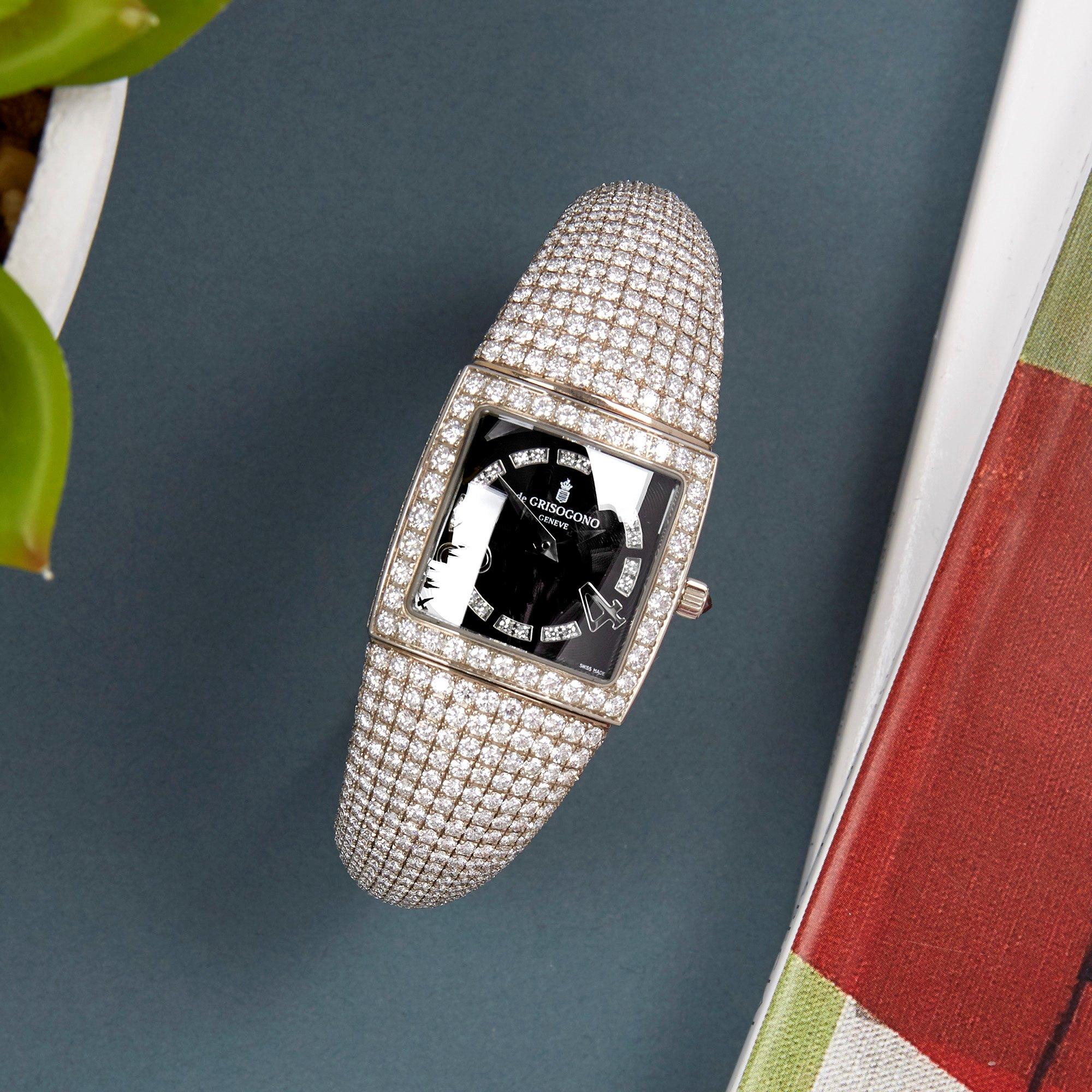 De Grisogono Piccolina Diamond White Gold S14B