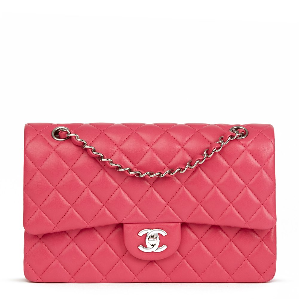 7ffb63244b22 Chanel Medium Classic Double Flap Bag 2014 HB2445 | Second Hand Handbags
