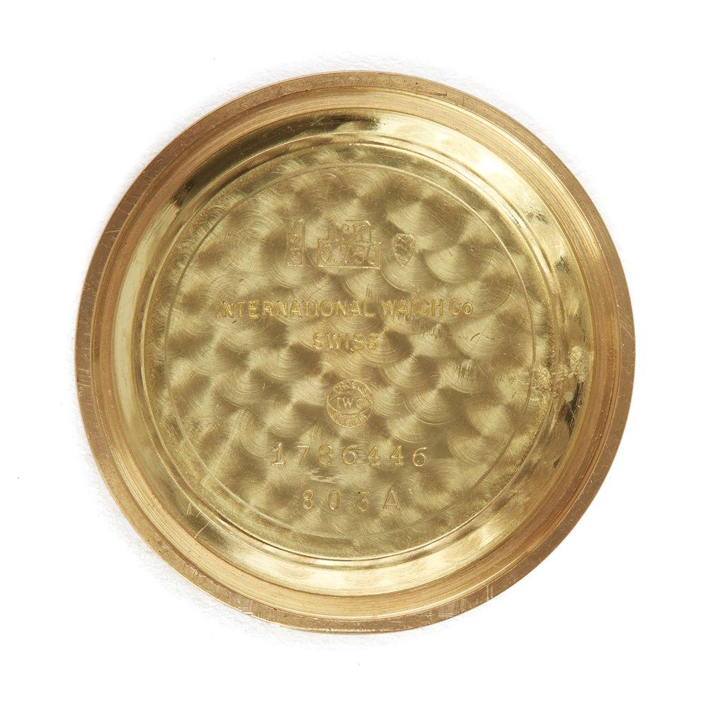 IWC Cal.8541 18k Rose Gold Cal.8541