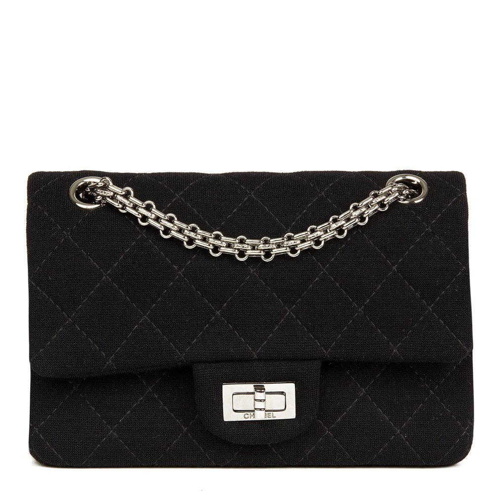158c08a111b4 Chanel 2.55 Reissue 224 Double Flap Bag 2013 HB2450 | Second Hand ...