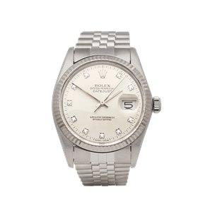 Rolex Datejust 36 Stainless Steel & 18K White Gold - 16014