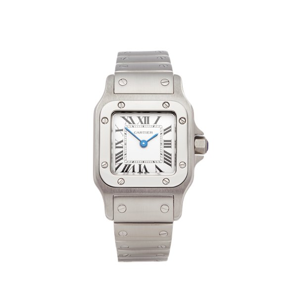 Cartier Santos Galbee Additional Link Cost £75 inc VAT Stainless Steel - W20056D6 or 1565