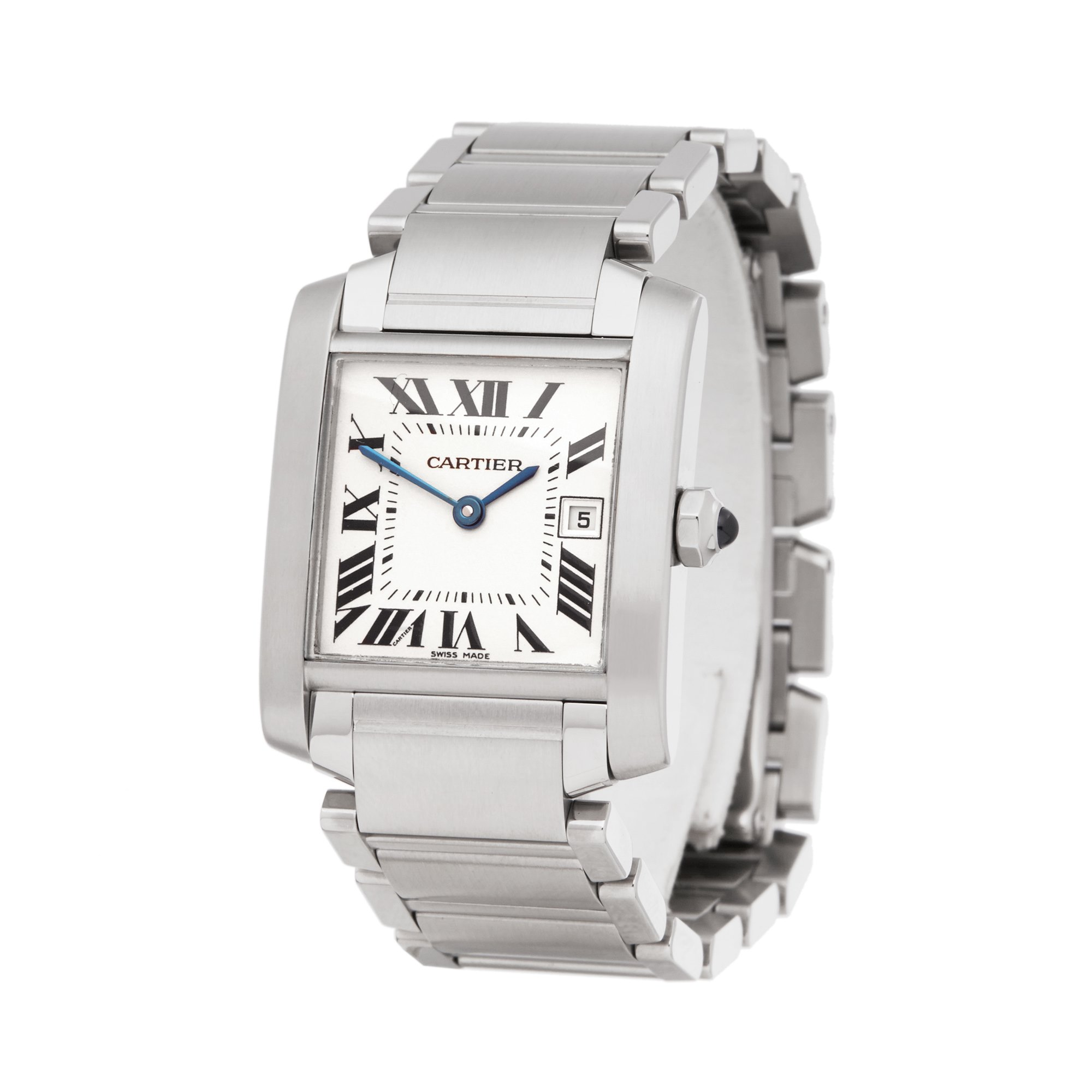 Cartier Tank Francaise Roestvrij Staal W51011Q3 or 2465